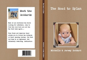 The cover I designed for my sister's book