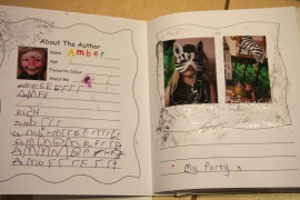 Amber's Photo Journal Glitter-fest