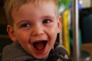 My laughing boy