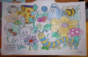 My Entry into our unofficial Colouring Competition