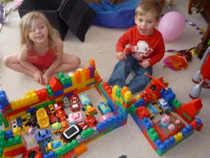 Mega Blocks Garages: a moment of calm
