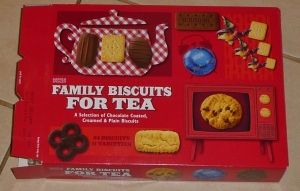 Buying a box of biscuits - big mistake!