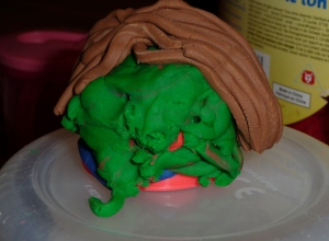 Apparently this is Mummy (it started as an alien)