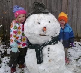 First proper snowman