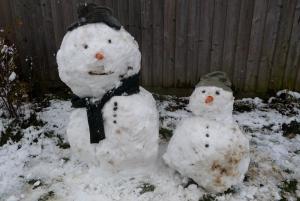 Snowman needed a friend