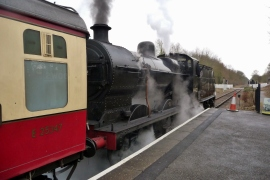 Our steam train today