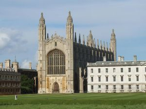 Kings College Chapel, Cambridge. Photo Courtesy of Wikimedia Commons