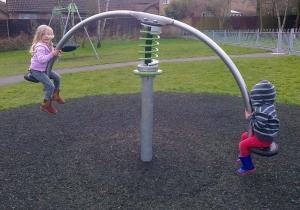 Bouncing at  the Park