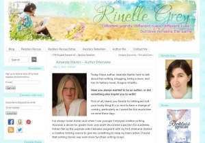 My Author Interview on Rinelle Grey's site