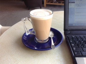 Starting the Day with a Latte, like Claire