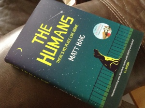 My long-awaited copy of The Humans
