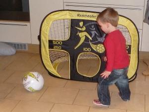 My little footballer