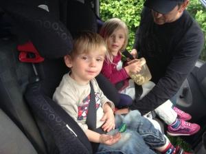 Taking a trip in the van