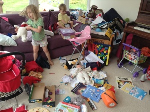 Playroom Carnage: We're taking Baby Annabelle to France