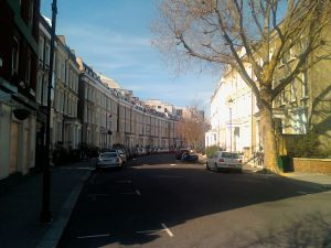 Helen's street in London
