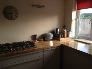 My lovely clean kitchen