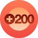 I reached 200 followers