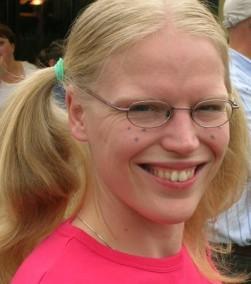 School Girl Amanda (six years ago!)