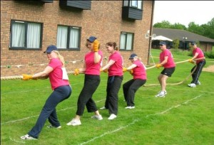 Team Day: I wish my bum still looked like that!