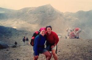 My hiking buddy for the Tongariro Crossing