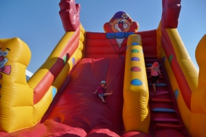 The Inflatable Slide