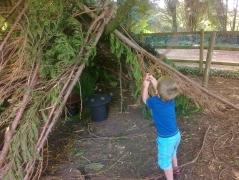 Building dens