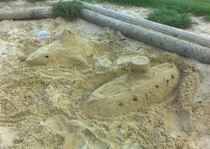 Sand shark, sand boat