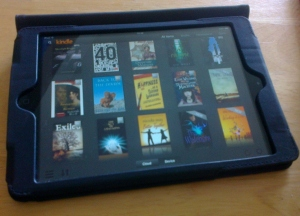 A fraction of the unread books on my Kindle