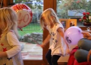 Balloon fighting