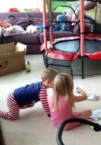 Doing Sounds in the playroom