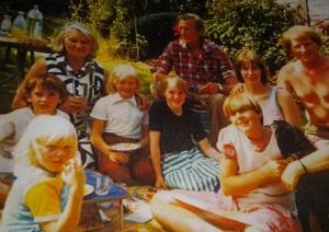 Grandma & Family (I'm bottom left)
