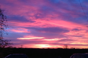 Red sky in the morning, sailor's warning