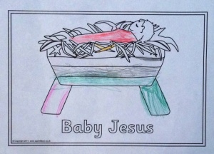 Daughter learns about Jesus at school