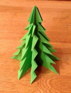 My origami tree