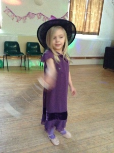 My glamorous dancing witch
