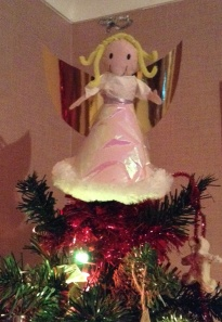 My angel tree-topper