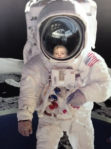 My little spaceman