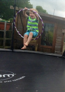 On the trampoline