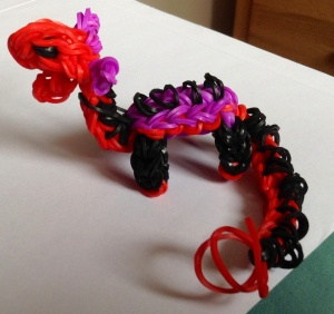 Loom-band Dragon