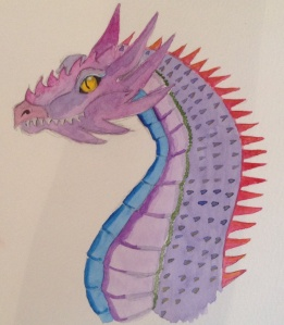Watercolour Dragon