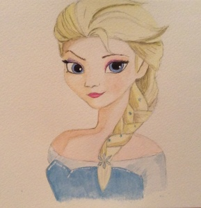 My Elsa Watercolour
