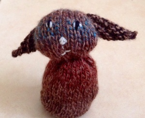 Wonky Brown Bunny