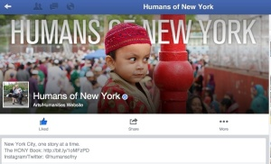 HONY Facebook Page