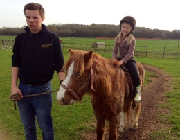 Pony ride on cracker