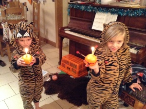 Christingles and Poorly kids