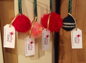 Knitted Christmas Baubles