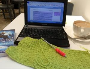 Back to work (crochet away!)