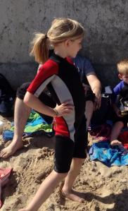 My awesome surfer girl
