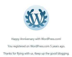 Blogging5yr